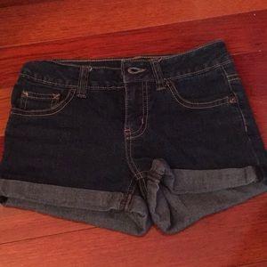 Dark wash jeans Justice brand